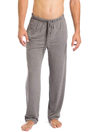 (Fishers Finery Men's Ecofabric Jersey Pajama Comfort Pant (Lt HTHR Gry, XXL) Light Heather Gray)