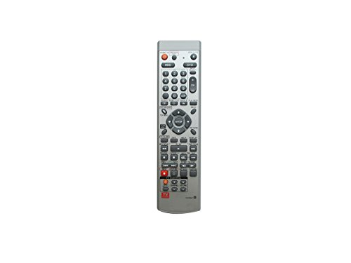Universal Replacement Remote Control Fit For Pioneer DVR-810H-S DVR-340-S DVR-530H-S HDD DVD RECORDER by HCDZ