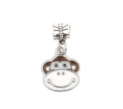 It's All About...You! Monkey Dangling European Bead Charm 86Af ()