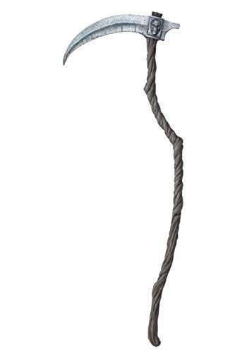 California Costumes Men's Reaper Scythe, Brown/Silver, One -
