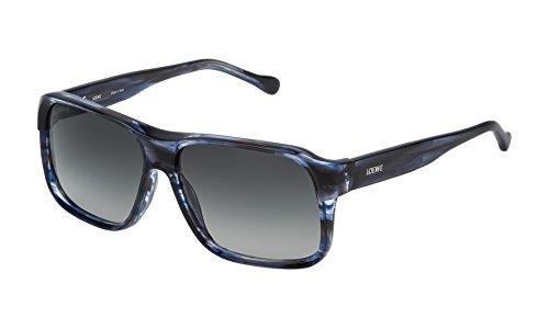 de Gafas Blue Shiny Sol 58 Mujer Streaked Loewe SLW964M5806WR para n4xBBq