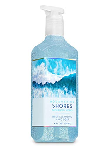 Bath Body Works Deep Cleansing Hand Soap Aquamarine Shores