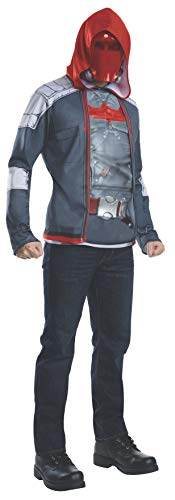 Rubie's Men's Arkham Knight Muscle Chest Red Hood, Multi, Small
