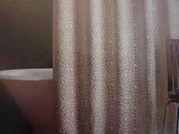 Amazon Threshold Geometric Burnout Shower Curtain
