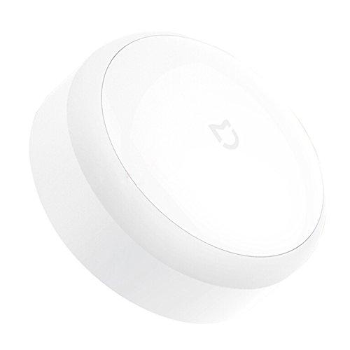 Xiaomi Mi Multi-Function Smart Home Night Light Intelligent Device Smart Lights Battery Powered Lamp Lighting Fixture Light Source=Warm White, Color=White