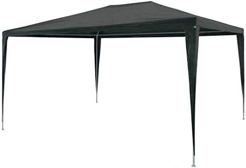 tidyard Carpa de Jardín Cenador para Patio Tienda para Camping Fiesta Celebraciones Evento al Aire Libre Boda Fiest Barbacoa con Estructura de Acero Verde 3x4x2,55m: Amazon.es: Hogar
