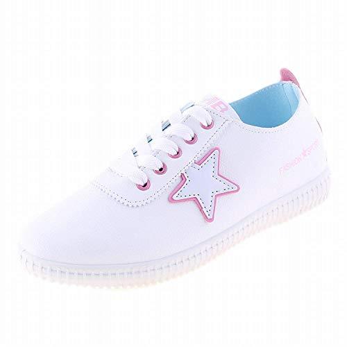 Blanches 36Rose Fuxitoggo FemmesDécontractéescoloréNoirTaille Pour Chaussures J53TculFK1