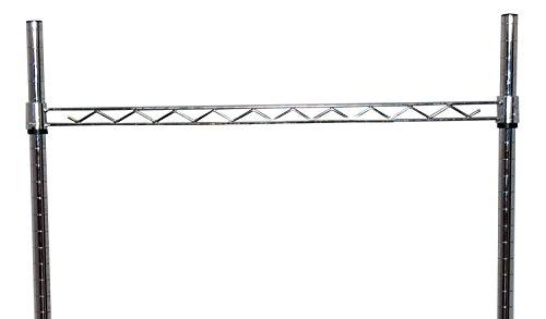 Tarrison HR48C Work Centre Chrome Hanger Rail, 48