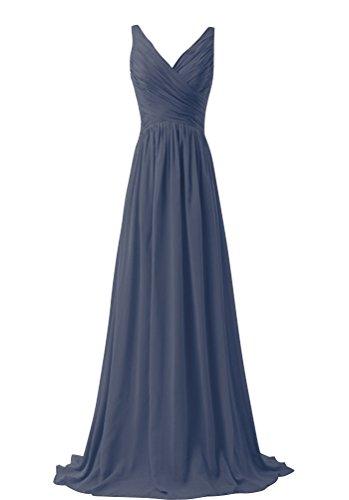 WeiYin Chiffon Sleeveless Bridemaid Dresses product image