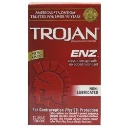 Troie condoms non lubrifiés en