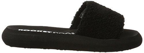 Rocket Dog Single, Chanclas Mujer Negro (Black)