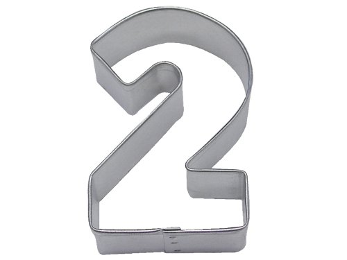 R&M Number 2 Cookie Cutter in Durable, Economical, Tinplated Steel ()