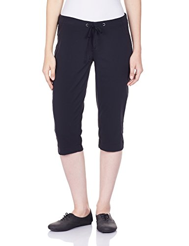 Linen Capris (Columbia Women's Anytime Outdoor Capri Pants, -black, 14x18)