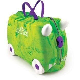 Trunki - Equipaje infantil verde verde Size H31, W46, D20cm: Amazon.es: Equipaje