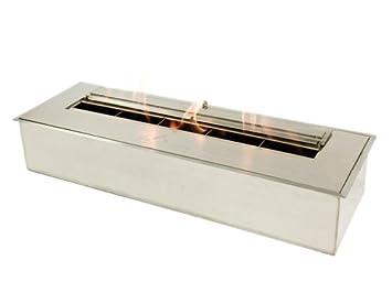amazon com bio flame 24 burner 24 inch bio ethanol burner home