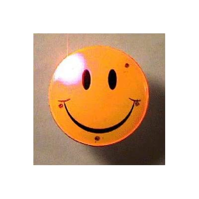 blinkee Smiley Face Flashing Body Light Lapel Pins by: Toys & Games