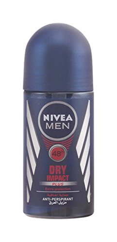 Nivea for Men Dry Impact Antiperspirant Deodorant Roll-on 50