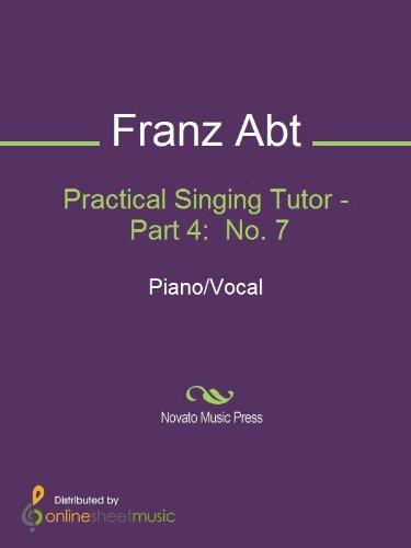 Practical Singing Tutor - Part 4:  No. 7