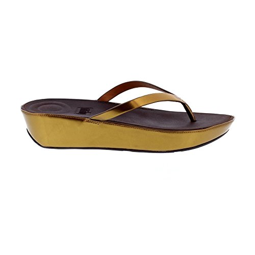 Fitflop™ Linny Womens Bronze Toe Mirror Post Sandals vU1qSZwv7x