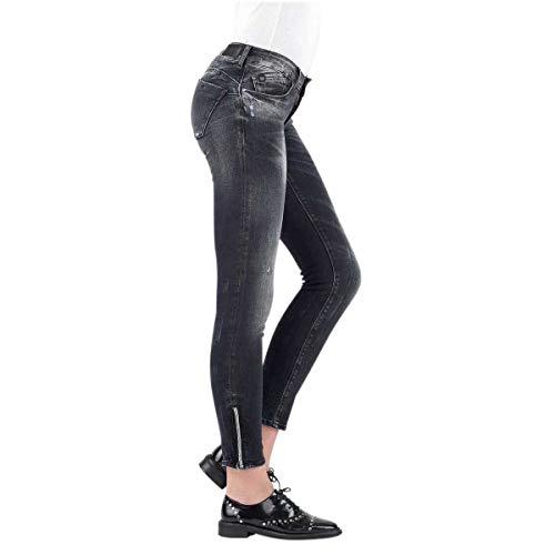 Black des Used JFPULPCWSS347 Le Skinny CERISESJean Femmes Temps YqfSAw7