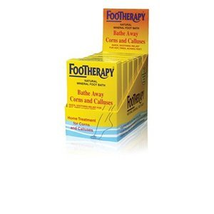 FooTherapy Natural Mineral Foot Bath, Soothing Relief For Tired, Sore Feet, 3 oz (Pack of 9)
