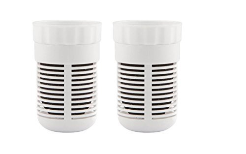 TWO-Quit Replacement Alkaline Filters for Seychelle pH2O and KING SIZE Pitchers