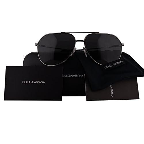 b2a81b9f9ce9 durable service Dolce   Gabbana Authentic Sunglasses DG2166 Gunmetal w Grey  Lens 0487 DG 2166
