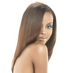 MilkyWay Human Hair Weave Pure Yaki [14] #2 by Milky (Milky Way Yaki Weave)
