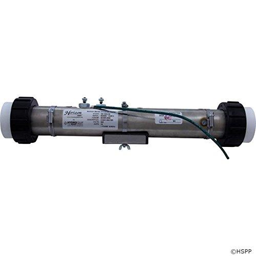 Flo Heater Assembly - Horizon Spa HydroQuip Universal Flo Thru Heater Assembly 2