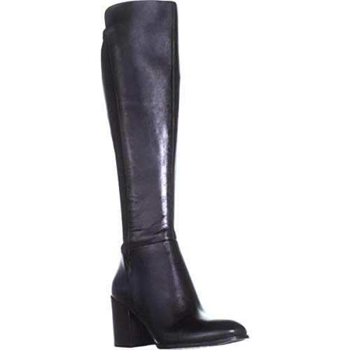 Marc Mujeres Piel Leather Lacole Moda Botas Cerrada Punta Black Fisher Multi Talla De qaw5fxRrqX