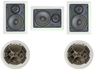 Amazon Com Niles 5 1 High End In Wall In Ceiling Speaker