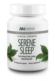 American Nutriceuticals Serene Sleep 60 Vegetarian Capsules