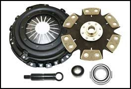 Competition Clutch Fits 03-06 Mitsubishi Lancer Evo 7/8/9 Stage 4-6 Pad Rigid Ceramic Clutch Kit