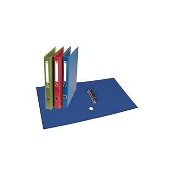 Archivador Carton Forrado Folio 2 Anillas 25 Mm Rojo: Amazon.es: Oficina y papelería