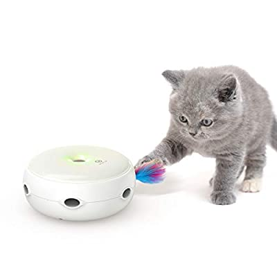 Toys for cats VAVAPet Interactive Cat Toys, Cat Toys Three Modes Day&Night... [tag]