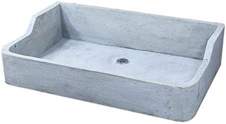 ガーデンシンク タイル流し台用モルタル下地 L サイズ排水口 中央