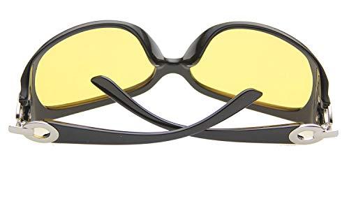 Negro Hombre Gafas Negro Mate Multicolor Sol Agstum De 6qUwZxvPC