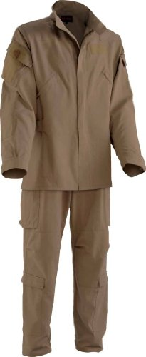 Drifire Phoenix II Fire Resistant Flight Suit Khaki Pants/Jacket US Army Large Short by DRIFIRE