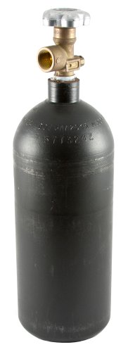 Forney 85362  Argon/CO2 Cylinder, Steel High Pressure, Empty, 20CF by Forney