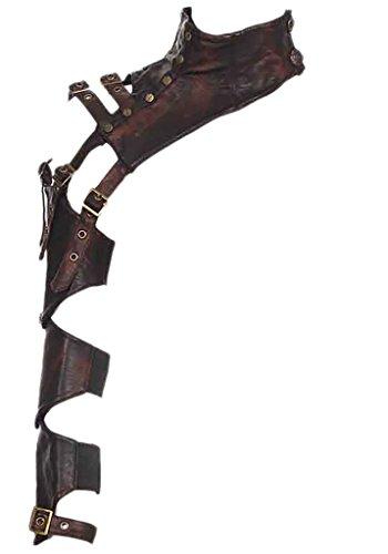Leather Shoulder Armor - 5