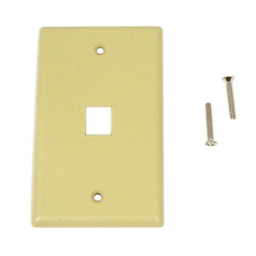 (Belkin 1-Position Plastic Keystone Faceplate )