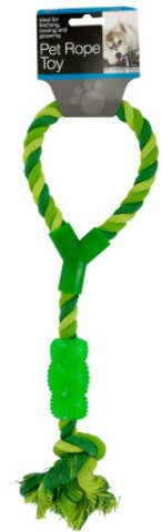 bulk buys Pet Rope Toy with Handle & Chew Toy ()