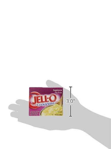 JELL-O Fat Free Tapioca Pudding & Pie Filling Mix (3 oz Boxes, Pack of 24) by Jell-O (Image #10)