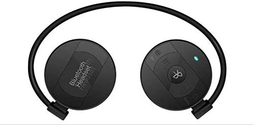 MuDella Bluetooth Wireless Headphones - Bluetooth 4.1, Behind Ear Hi-Fi Stereo Sweatproof Earphones with Built-in Mic, Hands-Free Calling, CSR chips for active noise reduction 20Hours Playtime