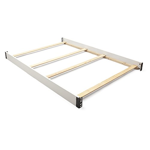 Delta Children Canton Full-Size Wood Bed Rails #0020, Bianca - Bed Wood Size White Full