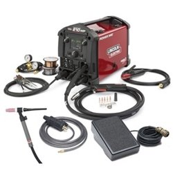 Lincoln Electric POWER MIG 210 MP Multi-Process Welder TIG One-Pak - K4195-2 from Lincoln Electric