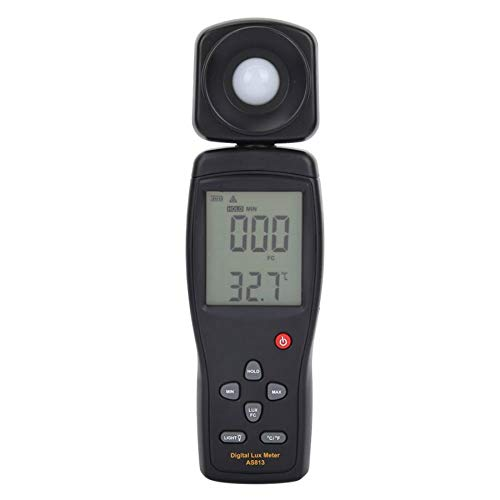 SMART SENSOR AS813 Photometer Illuminometer Digital Luxmeter Illuminance Light Meter Luxmeter by Christian