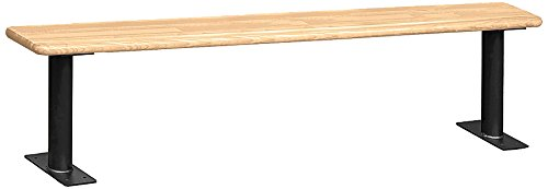 Salsbury Industries Wood Locker Benches, 60-Inch, Light Finish by Salsbury Industries