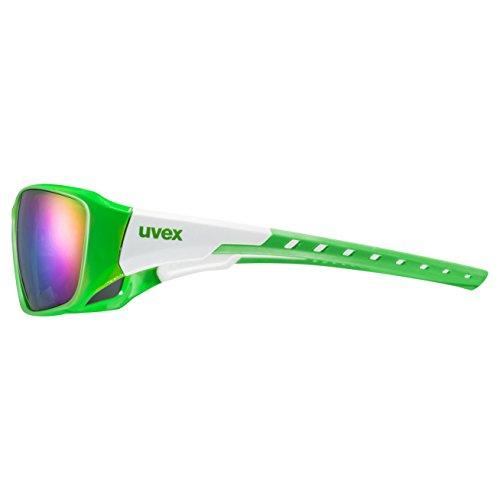 Uvex Sportstyle 219 Lunettes de soleil Vert/Blanc U8l62D