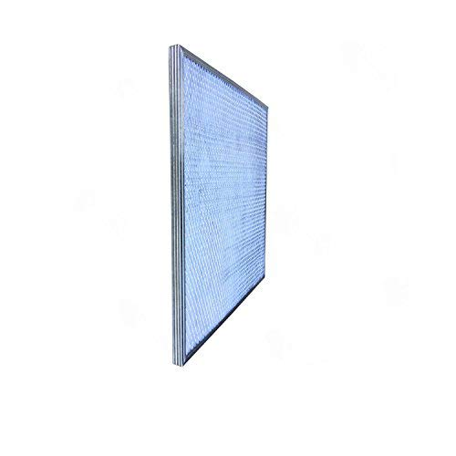 16x25x1 Activated Carbon Particles A//C Furnace Air Filters Steel Frame